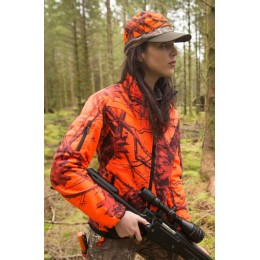 Shooterking Mossy Orange Softshelljacke Damen