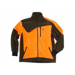 Browning Powerfleece Jacke Orange/Grün