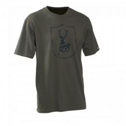 Deerhunter Logo T-Shirt Farbe Bark Green