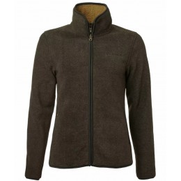 Chevalier Mainstone Damen Fleece Cardigan grün melange