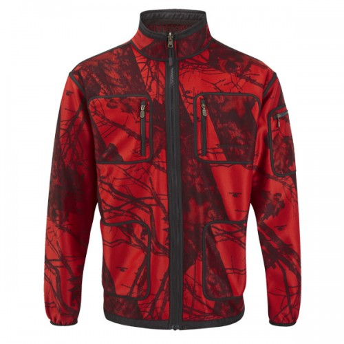 Shooterking Herren Softshelljacke Mossy Red