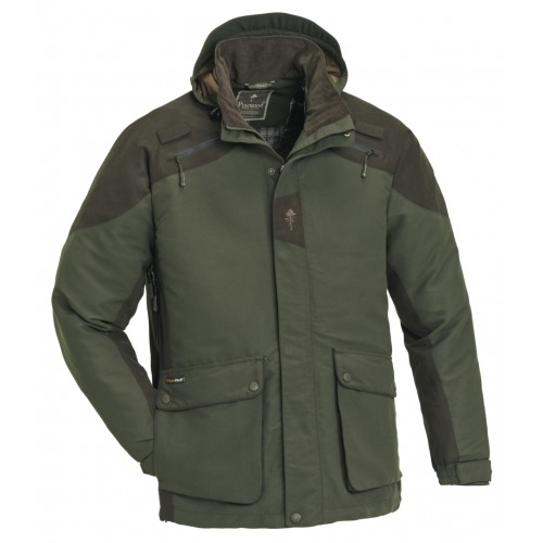 Pinewood Jagdjacke Red Deer Mossgreen/Suede Brown