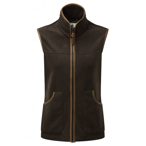 Shooterking Performance Damen Fleece Weste Braun