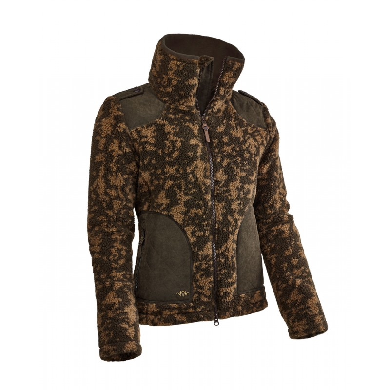 cafe295e4937dc Blaser ARGALI 3.0 Fleece Jacke Damen terra unique