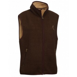 Chevalier Damen Fleece Weste Mainstone Braun