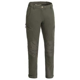 Pinewood Damen Hose Wildmark Stretch Moosgrün/Dunkeloliv