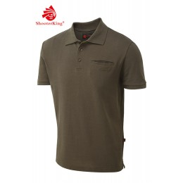 Shooterking Game Polo Shirt braun M