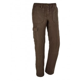 Blaser Canvas Hose Winter Damen dunkelbraun 40