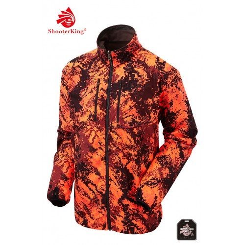 Shooterking Herren Softshelljacke DIGITEX Blaze Camo
