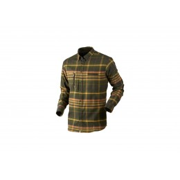 Härkila Eide Hemd Herren Shadow brown check XL