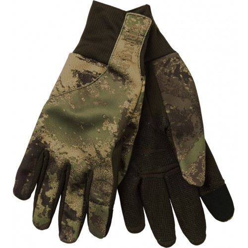Härkila Lynx Fleece Handschuhe AXIS MSP Forest Green
