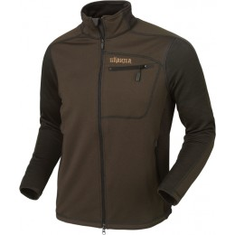 Härkila Vestmar Hybrid Fleecejacke Rifle slate brown