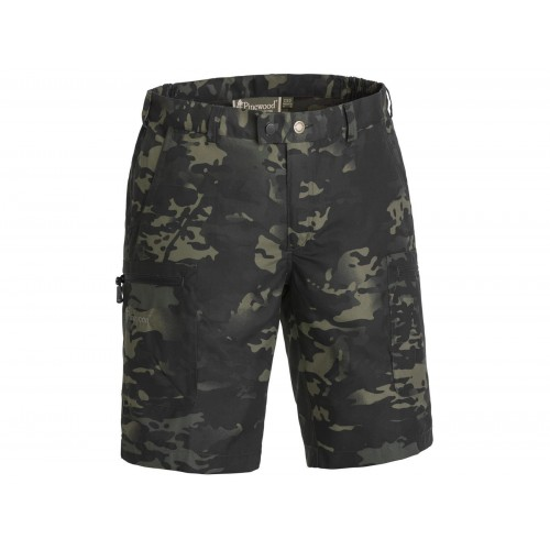 Pinewood Shorts Caribou Camou TC Shorts Black Jungle