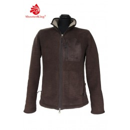 Shooterking Damen Fleece Jacke Forest braun