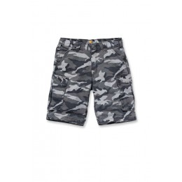 Carhartt Herren Rugged Grey Cargo Camo Shorts