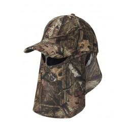 Browning Kappe mit Facemask Camouflage XTRA