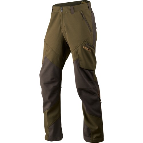 Härkila Lagan Hose Willow Green/Deep Brown