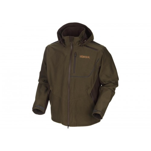 Härkila Mountain Hunter Jacke Hunting green/Shadow brown 46