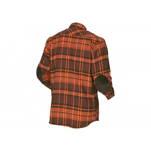 Härkila Eide Hemd Herren Orange check S