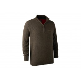 Deerhunter Hastings Zip Pullover Dark Elm