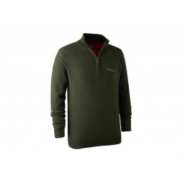 Deerhunter Hastings Zip Pullover Green
