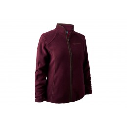 Deerhunter Lady Josephine Fleece Jacke Burgundy