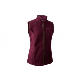 Deerhunter Lady Josephine Fleece Weste Burgundy