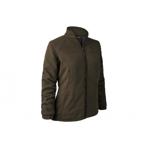 Deerhunter Lady Josephine Fleece Jacke mit Mebrane 48 Graphite green