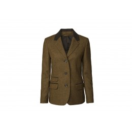 Chevalier Damen Tweed Blazer Hawick Braun