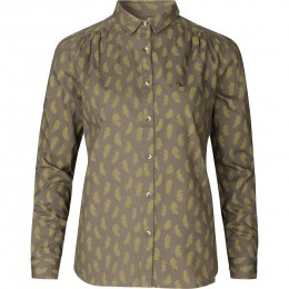 Seeland Skeet Bluse Olive Feather L
