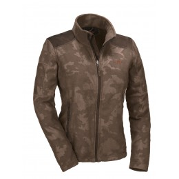 Blaser Damen Fleece Jacke Camo-Art Mira