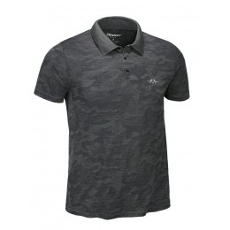Blaser Herren Funktions Polo Hemd Mike Anthrazit