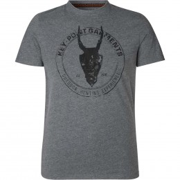 Seeland Key-Point T-Shirt Grey melange XL