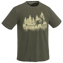 Pinewood Hunting T-Shirt grün L