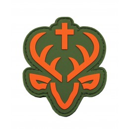 Jagdstolz Logo Patch Orange/ Green