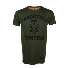 Jagdstolz HerrenT-Shirt College Black