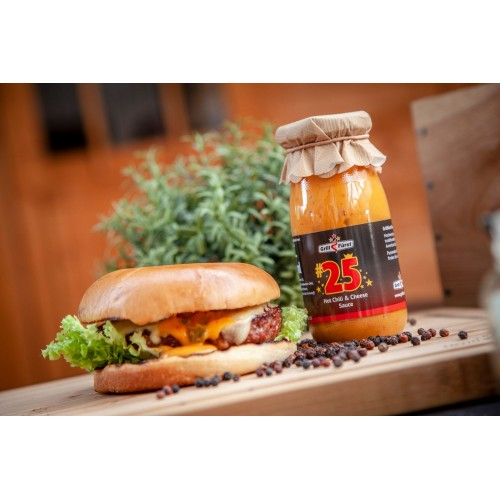 Grillfürst BBQ Sauce No. #25, Hot Chili & Cheese Sauce 250 ml