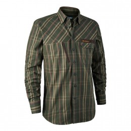 Deerhunter Keith Herren Hemd green checked