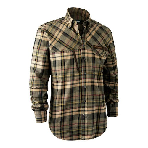 Deerhunter Reece Herren Hemd green checked 39/40