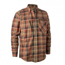Deerhunter Hector Herren Hemd Orange checked