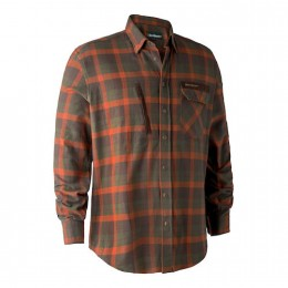 Deerhunter Ethan Herren Hemd Orange checked