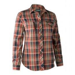 Deerhunter Lady Athena Bluse orange check