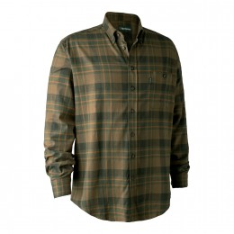 Deerhunter Kyle Herren Hemd green check