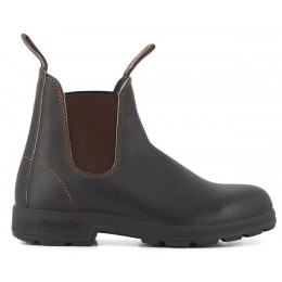 Blundstone Unisex Boots #500 Stout Brown Leather