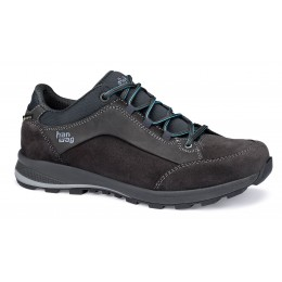 Han Wag Damen Banks Low Lady GTX Asphalt / Ocean