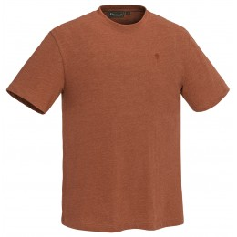 Pinewood Herren T-Shirt 3er Pack Terracotta